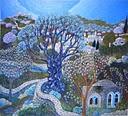 עץ כחול