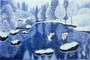 קרח בחורף